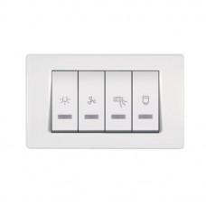 Experience sklopka za kupatilo sa indikacijom(svetlo,grejalica,bojler) horizontalna