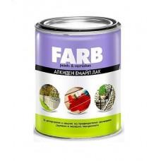 FARB emajl na uljanoj bazi crni 0,2 lit.