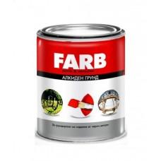 FARB osnovna boja za metal na uljanoj bazi crvena 0,9 kg.