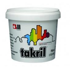Takril boja za beton bela 01 0.75 litara