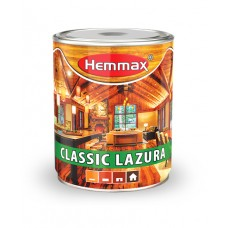 Hemmax CLASSIC lazurni premaz za drvo 03 tik 0,75 litara