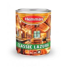 Hemmax CLASSIC lazurni premaz za drvo 10 kesten 0,75 litara