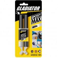Gladiator Epoxy max metal dvokomponentni lepak za metal 28 gr.