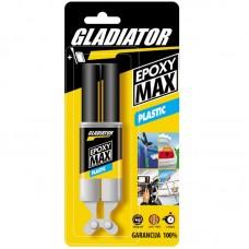 Gladiator Epoxy max plastic dvokomponentni lepak za plastiku 28 gr.