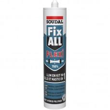 Soudal Fix all montaž git beli 290 ml.