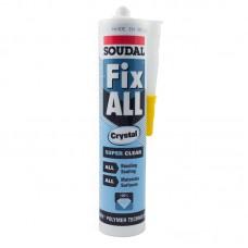 Soudal Fix all Crystal montaž git kristalno transparantni 290 ml.