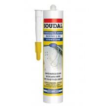 Soudal sanitarni silikon acetat beli 280 ml.