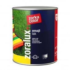 Zoralux emajl lak za drvo i metal na uljanoj bazi sivi 0.75 litara