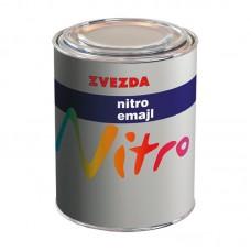 Zvezda Nitro emajl lak za drvo i metal crni mat 0.75 litara