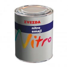 Zvezda Nitro emajl lak za drvo i metal crveni 0.75 litara