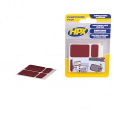HPX Dvostrano lepljive pločice antracit